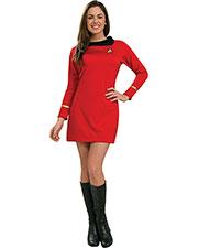 Halloween Costumes RU889061SM Women Star Trek Classic Red Dress Sm at GotApparel