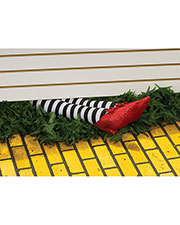 Halloween Costumes RU9166 Unisex Wicked Witch Legs Prop 18in at GotApparel