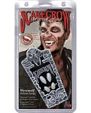 Halloween Costumes SCWF107 Unisex Werewolf Custom Scarecrow Fang at GotApparel