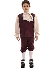 Halloween Costumes UR26229SM Unisex Colonial Boy Small at GotApparel
