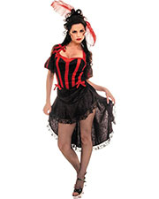 Halloween Costumes UR28042SM Women Can  Black Red Small at GotApparel
