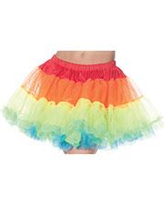 Halloween Costumes UR28282 Women Petticoat Tutu Rainbow at GotApparel