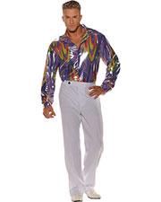 Halloween Costumes UR28595 Men Disco Shirt Std at GotApparel