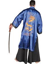 Halloween Costumes UR28655 Men Samurai Blue One Size at GotApparel