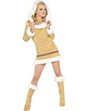 Halloween Costumes UR28785LG Women Eskimo Kisses Large at GotApparel