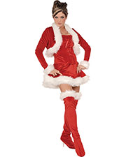 Halloween Costumes UR28840MD Women Ms Claus Medium at GotApparel