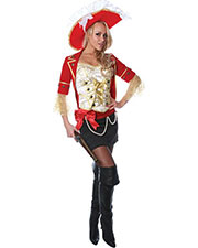 Halloween Costumes UR29024SM Women Lace Pirate Small at GotApparel