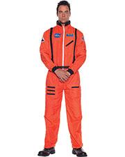 Halloween Costumes UR29137 Men Astronaut Mens Orange Std at GotApparel