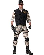 Halloween Costumes UR29378 Men Seal Team Standard Ad 42-46 at GotApparel