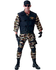 Halloween Costumes UR29379 Boys Seal Team Deluxe 42-46 at GotApparel