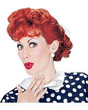 Halloween Costumes XR19069 Women I Love Lucy Wig at GotApparel
